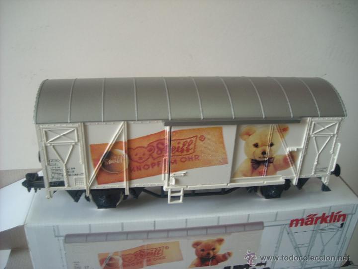 Trenes Escala: Marklin escala 1 1:32 ref 5846 vagon mercancias cerrado Steiff spur1 Nuevo - Foto 2 - 42356461