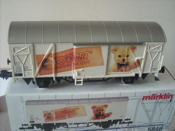Trenes Escala: Marklin escala 1 1:32 ref 5846 vagon mercancias cerrado Steiff spur1 Nuevo - Foto 4 - 42356461