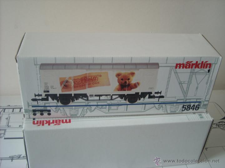 Trenes Escala: Marklin escala 1 1:32 ref 5846 vagon mercancias cerrado Steiff spur1 Nuevo - Foto 7 - 42356461
