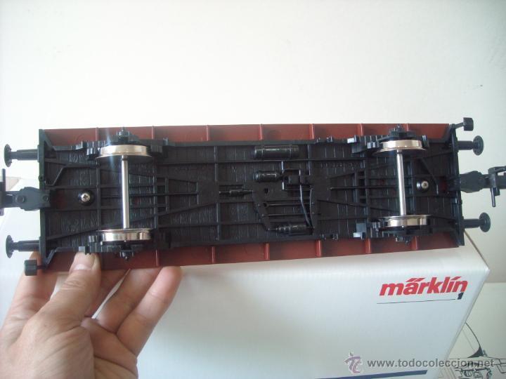 Trenes Escala: Marklin escala 1 1:32 ref 5414 vagon mercancias con contenedor spur1 Nuevo - Foto 4 - 42357038