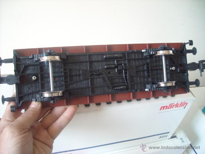 Trenes Escala: Marklin escala 1 1:32 ref 5414 vagon mercancias con contenedor spur1 Nuevo - Foto 4 - 42357053