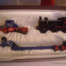 Treni in Scala: MATCHBOX MODELS OF YESTERYEAR YS-16 1929 SCAMMEL 100T TRUCK-TRAILER MAQUETA CAMIÓN LOCOMOTORA NUEVO. Lote 42794583