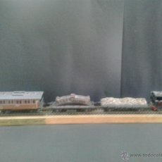 Trenes Escala: MAQUETA DE TREN DE SAN ANDRES VILANUEVA Y GELTRU DE 1968. Lote 42827386