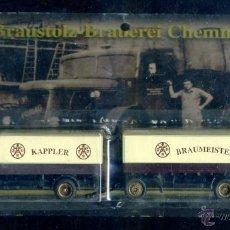 Trenes Escala: GRELL - CAMION ESCALA H0 - CERVEZA KAPPLER - ALEMANIA AUTOMOVIL. Lote 43653054
