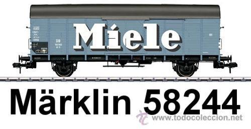 MARKLIN ESCALA 1 REF 58244 VAGON MERCANCIAS MIELE SPUR1 NUEVO (Juguetes - Trenes - Varios)