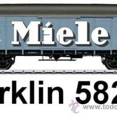 Trenes Escala: MARKLIN ESCALA 1 REF 58244 VAGON MERCANCIAS MIELE SPUR1 NUEVO. Lote 43879676