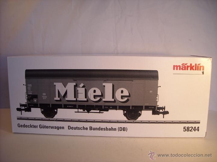 Trenes Escala: marklin escala 1 ref 58244 vagon mercancias Miele spur1 Nuevo - Foto 2 - 43879676