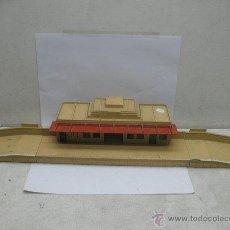 Trenes Escala: ESTACION TODA DE METAL HORNBY-DUBLO,MADE IN ENGLAND MECCANO LTD,AÑOS 40,ESCALA HO. Lote 44449612