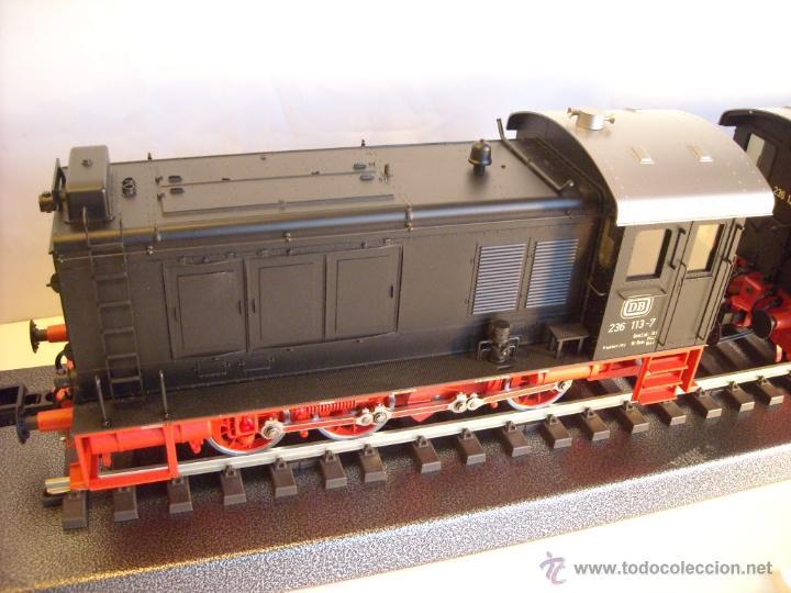 Trenes Escala: Marklin digital escala 1 ref 5530 doble traccion locomotora Diesel BR 236 de la DB spur1 nueva. - Foto 2 - 45090238