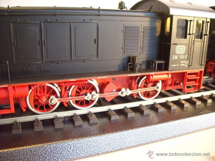 Trenes Escala: Marklin digital escala 1 ref 5530 doble traccion locomotora Diesel BR 236 de la DB spur1 nueva. - Foto 3 - 45090238