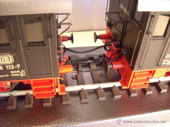 Trenes Escala: Marklin digital escala 1 ref 5530 doble traccion locomotora Diesel BR 236 de la DB spur1 nueva. - Foto 4 - 45090238