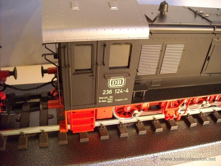 Trenes Escala: Marklin digital escala 1 ref 5530 doble traccion locomotora Diesel BR 236 de la DB spur1 nueva. - Foto 5 - 45090238