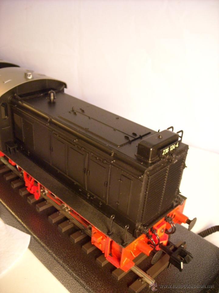Trenes Escala: Marklin digital escala 1 ref 5530 doble traccion locomotora Diesel BR 236 de la DB spur1 nueva. - Foto 7 - 45090238