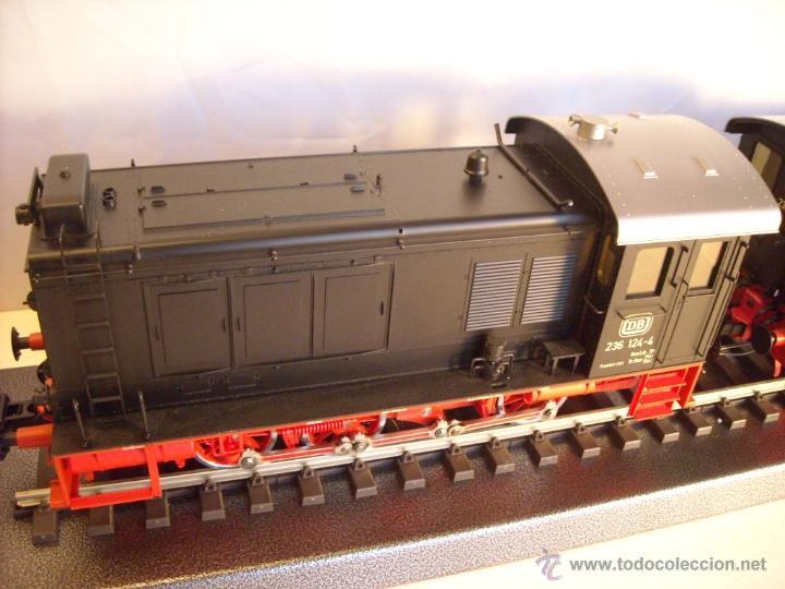 Trenes Escala: Marklin digital escala 1 ref 5530 doble traccion locomotora Diesel BR 236 de la DB spur1 nueva. - Foto 8 - 45090238