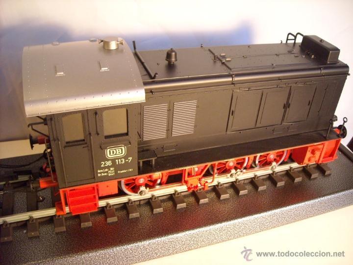 Trenes Escala: Marklin digital escala 1 ref 5530 doble traccion locomotora Diesel BR 236 de la DB spur1 nueva. - Foto 9 - 45090238