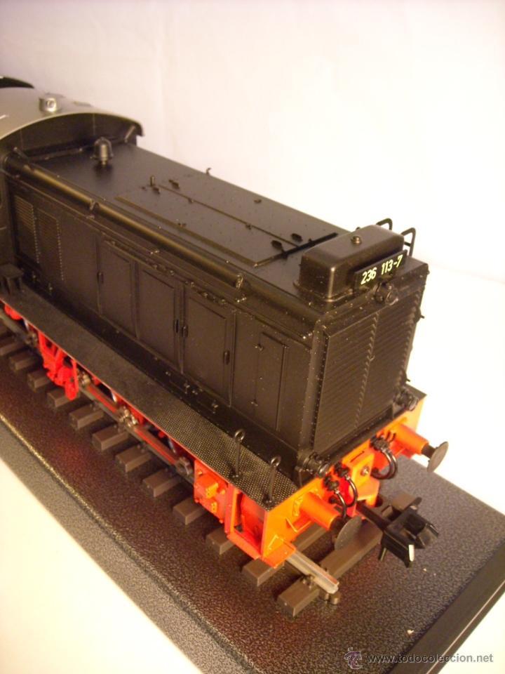 Trenes Escala: Marklin digital escala 1 ref 5530 doble traccion locomotora Diesel BR 236 de la DB spur1 nueva. - Foto 10 - 45090238