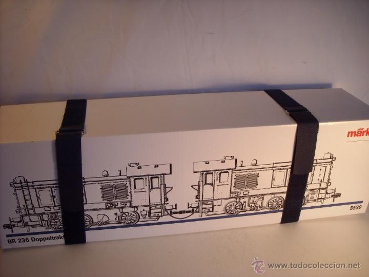 Trenes Escala: Marklin digital escala 1 ref 5530 doble traccion locomotora Diesel BR 236 de la DB spur1 nueva. - Foto 13 - 45090238