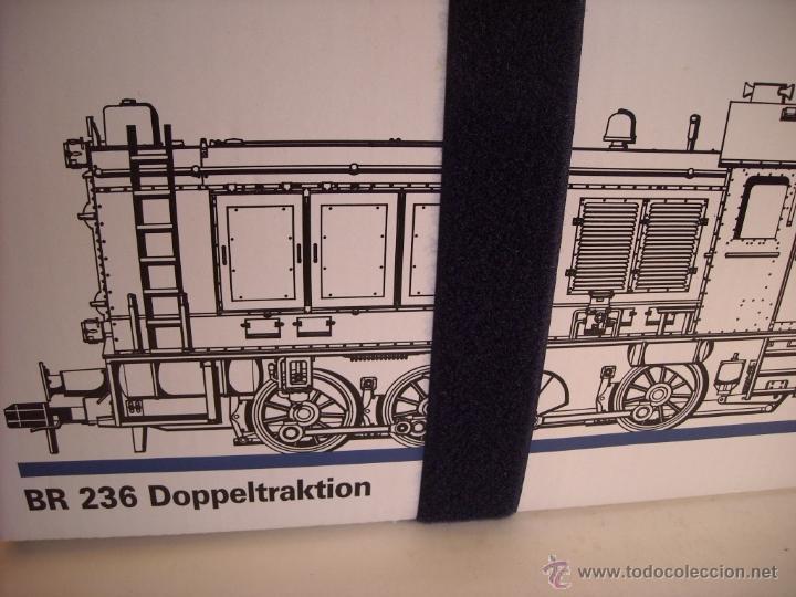 Trenes Escala: Marklin digital escala 1 ref 5530 doble traccion locomotora Diesel BR 236 de la DB spur1 nueva. - Foto 14 - 45090238