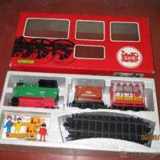Trenes Escala: CAJA SET COMPLETA SYSTEM 300 - TREN DE JARDÍN EN ESCALA *G* 45 MM. ANCHO DE VIA DE L.G.B. LEHMANN. Lote 45149711