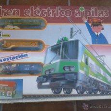 TREN ELECTRICO A PILAS PEQUETREN