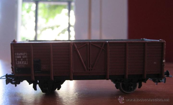 VAGÓN DE CARGA MARCA PIKO MODELLBAHN MOD.58912 MADE IN GERMANY ESCALA HO AÑOS 70 (Juguetes - Trenes Escala H0 - Otros Trenes Escala H0)