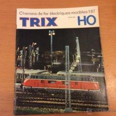 Trenes Escala: TRIX CATALOGO GENERAL 1966 TRENES ESCALA H0. Lote 46323009