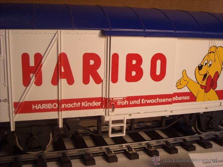 Trenes Escala: Marklin escala 1 1:32 ref 5845 vagon mercancías cerrado de la DB Haribo spur1 Nuevo - Foto 2 - 46544777