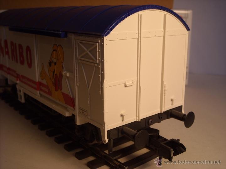 Trenes Escala: Marklin escala 1 1:32 ref 5845 vagon mercancías cerrado de la DB Haribo spur1 Nuevo - Foto 3 - 46544777