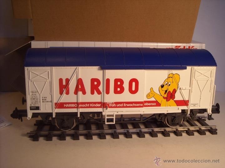 Trenes Escala: Marklin escala 1 1:32 ref 5845 vagon mercancías cerrado de la DB Haribo spur1 Nuevo - Foto 4 - 46544777