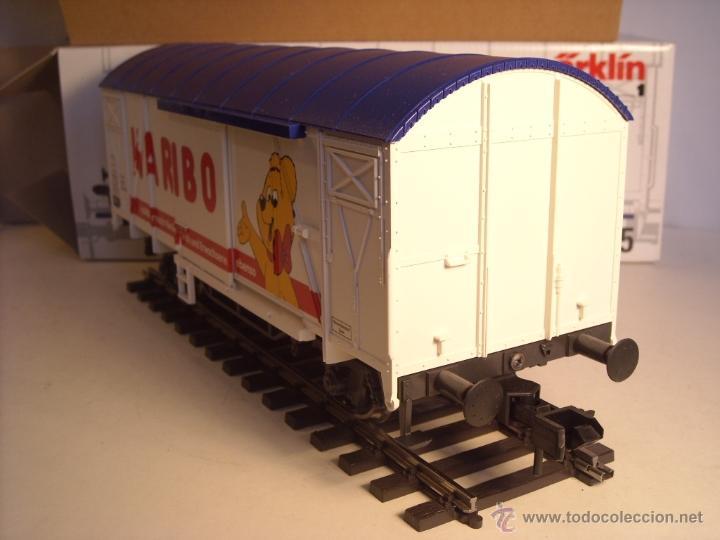 Trenes Escala: Marklin escala 1 1:32 ref 5845 vagon mercancías cerrado de la DB Haribo spur1 Nuevo - Foto 5 - 46544777