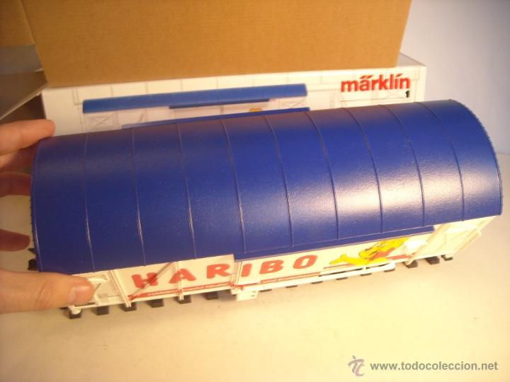 Trenes Escala: Marklin escala 1 1:32 ref 5845 vagon mercancías cerrado de la DB Haribo spur1 Nuevo - Foto 6 - 46544777
