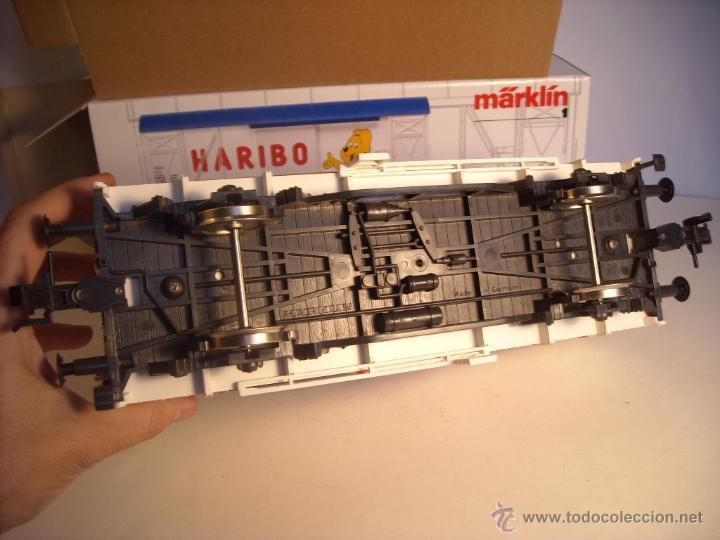 Trenes Escala: Marklin escala 1 1:32 ref 5845 vagon mercancías cerrado de la DB Haribo spur1 Nuevo - Foto 7 - 46544777