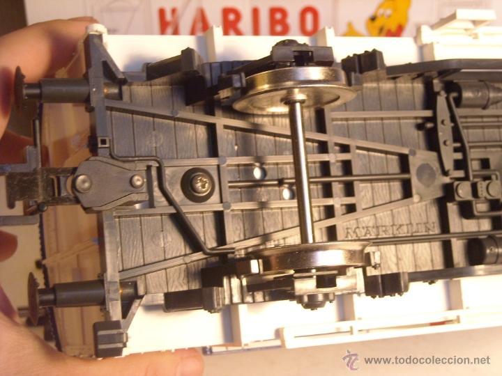 Trenes Escala: Marklin escala 1 1:32 ref 5845 vagon mercancías cerrado de la DB Haribo spur1 Nuevo - Foto 8 - 46544777
