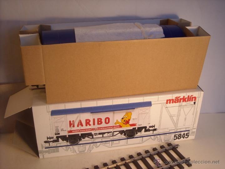 Trenes Escala: Marklin escala 1 1:32 ref 5845 vagon mercancías cerrado de la DB Haribo spur1 Nuevo - Foto 10 - 46544777