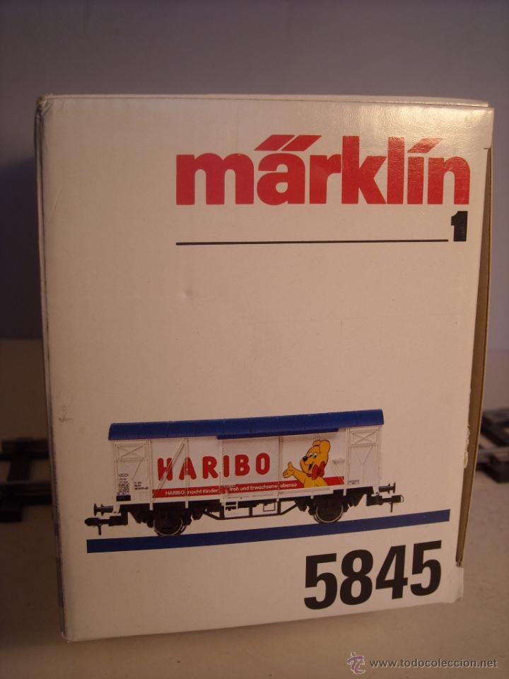 Trenes Escala: Marklin escala 1 1:32 ref 5845 vagon mercancías cerrado de la DB Haribo spur1 Nuevo - Foto 11 - 46544777