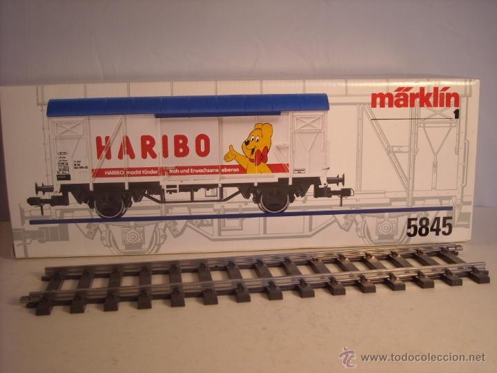 Trenes Escala: Marklin escala 1 1:32 ref 5845 vagon mercancías cerrado de la DB Haribo spur1 Nuevo - Foto 12 - 46544777