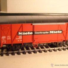 Trenes Escala: MARKLIN ESCALA 1 1:32 REF 5857 VAGON MERCANCÍAS CERRADO DE LA DB MIELE SPUR1 NUEVO. Lote 46544841