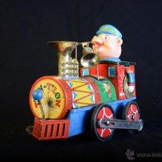Trenes Escala: TREN TILÍN-TILÓN - JUGUETE DE CHAPA LITOGRAFIADA. Lote 46779908