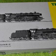 Trenes Escala: SET CON 2 LOCOMOTORAS A VAPOR DE LA DB DE TRIX, REF. 22137, ESCALA HO.. Lote 47784600