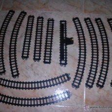 Trenes Escala: LOTE DE VIAS TREN ELECTRICO IBERTREN 5021 TRENEX TREN. Lote 74972646