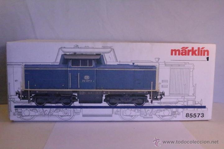 Trenes Escala: Marklin escala 1 1:32 ref 85573 Locomotora diesel BR 212 227-3 patinada origen, Nueva spur1 - Foto 2 - 48360573