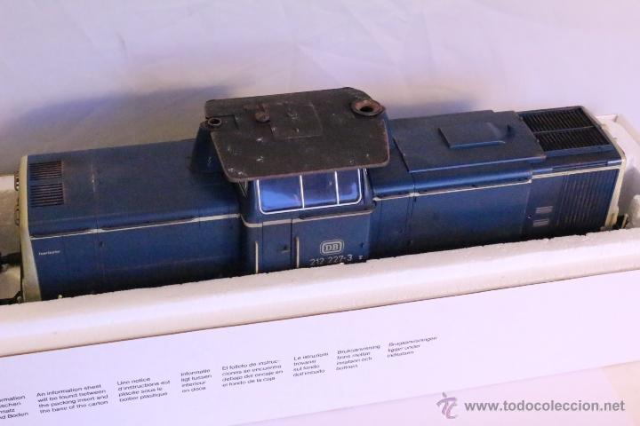 Trenes Escala: Marklin escala 1 1:32 ref 85573 Locomotora diesel BR 212 227-3 patinada origen, Nueva spur1 - Foto 8 - 48360573