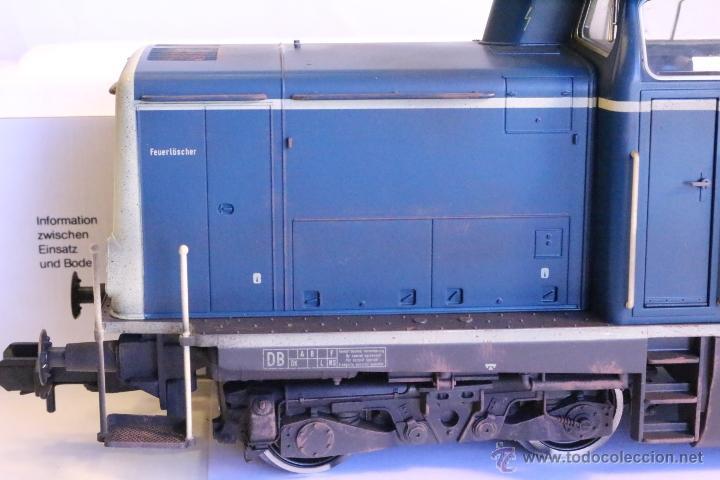 Trenes Escala: Marklin escala 1 1:32 ref 85573 Locomotora diesel BR 212 227-3 patinada origen, Nueva spur1 - Foto 9 - 48360573