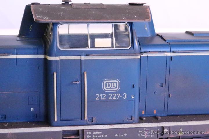 Trenes Escala: Marklin escala 1 1:32 ref 85573 Locomotora diesel BR 212 227-3 patinada origen, Nueva spur1 - Foto 10 - 48360573