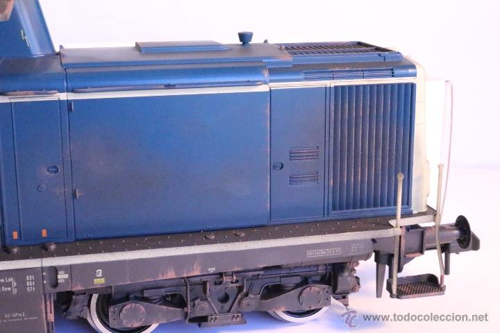 Trenes Escala: Marklin escala 1 1:32 ref 85573 Locomotora diesel BR 212 227-3 patinada origen, Nueva spur1 - Foto 11 - 48360573