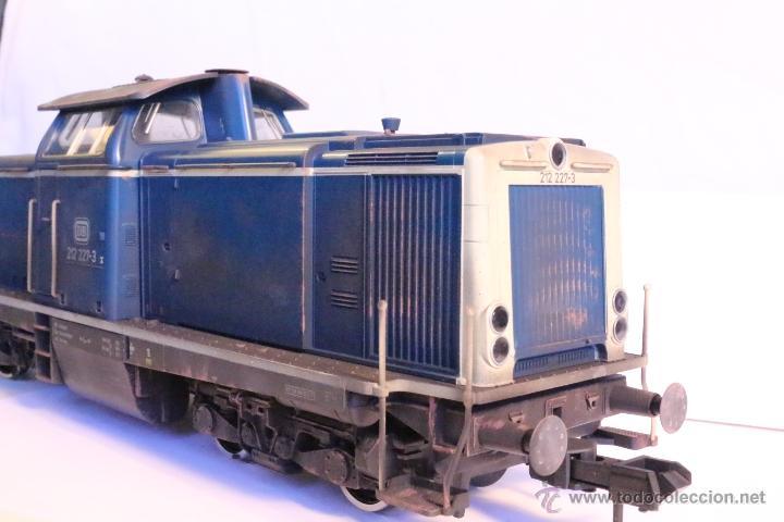 Trenes Escala: Marklin escala 1 1:32 ref 85573 Locomotora diesel BR 212 227-3 patinada origen, Nueva spur1 - Foto 12 - 48360573