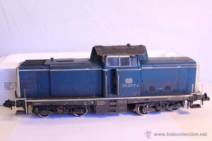 Trenes Escala: Marklin escala 1 1:32 ref 85573 Locomotora diesel BR 212 227-3 patinada origen, Nueva spur1 - Foto 14 - 48360573