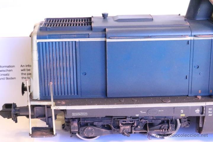 Trenes Escala: Marklin escala 1 1:32 ref 85573 Locomotora diesel BR 212 227-3 patinada origen, Nueva spur1 - Foto 15 - 48360573