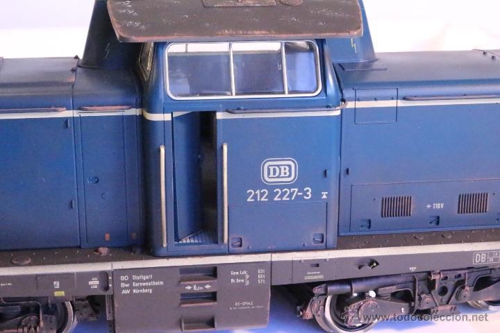 Trenes Escala: Marklin escala 1 1:32 ref 85573 Locomotora diesel BR 212 227-3 patinada origen, Nueva spur1 - Foto 16 - 48360573
