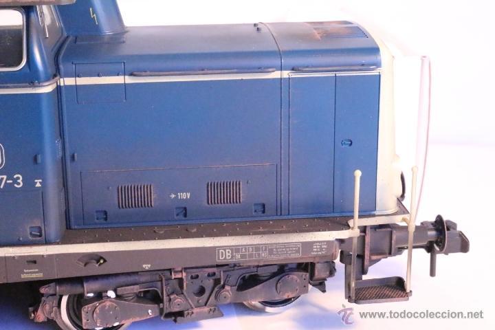 Trenes Escala: Marklin escala 1 1:32 ref 85573 Locomotora diesel BR 212 227-3 patinada origen, Nueva spur1 - Foto 17 - 48360573